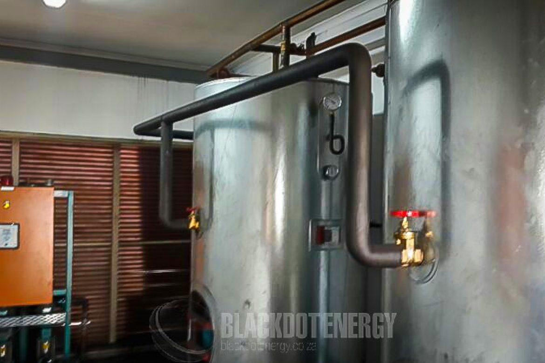 Hydronic Underfloor Heating System - BHP BILLITON – WOLWEKRANS COLLIERY