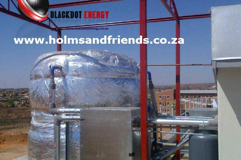 Tshwane Electrical Department - Atmospheric pressure storage system - 01